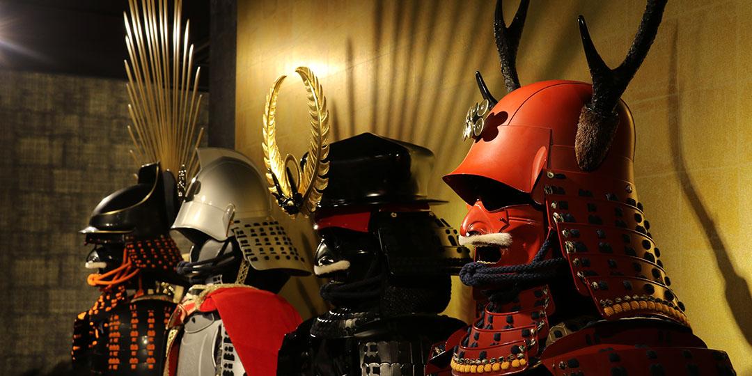 일본도, 검투극, 갑옷과 투구 ……동경하던 사무라이가 될 수 있는 체험 장소