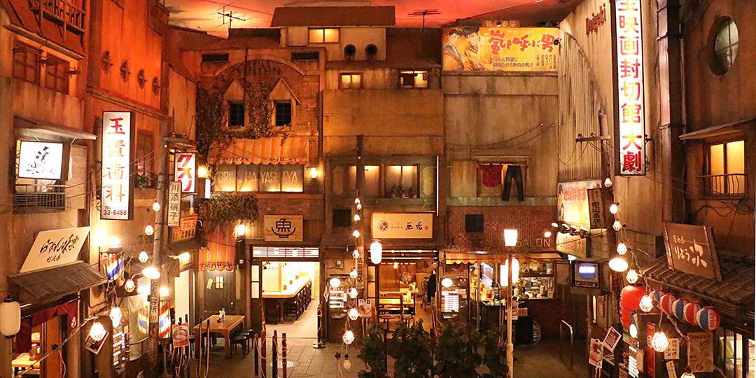 """在""""新横滨拉面博物馆""""品尝日本各地的拉面"""