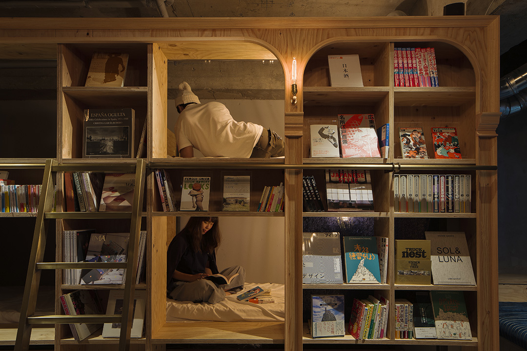 BOOK AND BED TOKYO 이케부쿠로