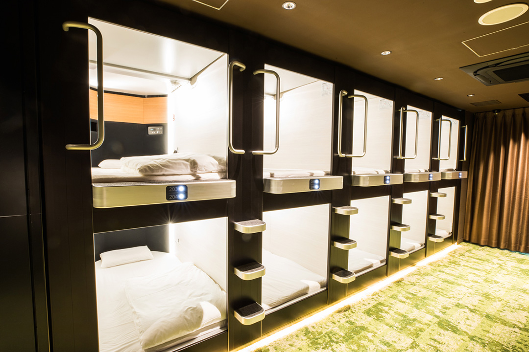GLANSIT AKIHABARA~COMFORT CAPSULE HOTEL~