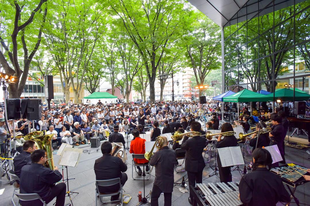定禅寺街头音乐节