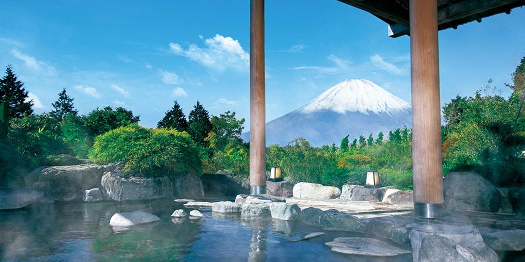 从房间看眼前是绝色景色! 能看见富士山的酒店