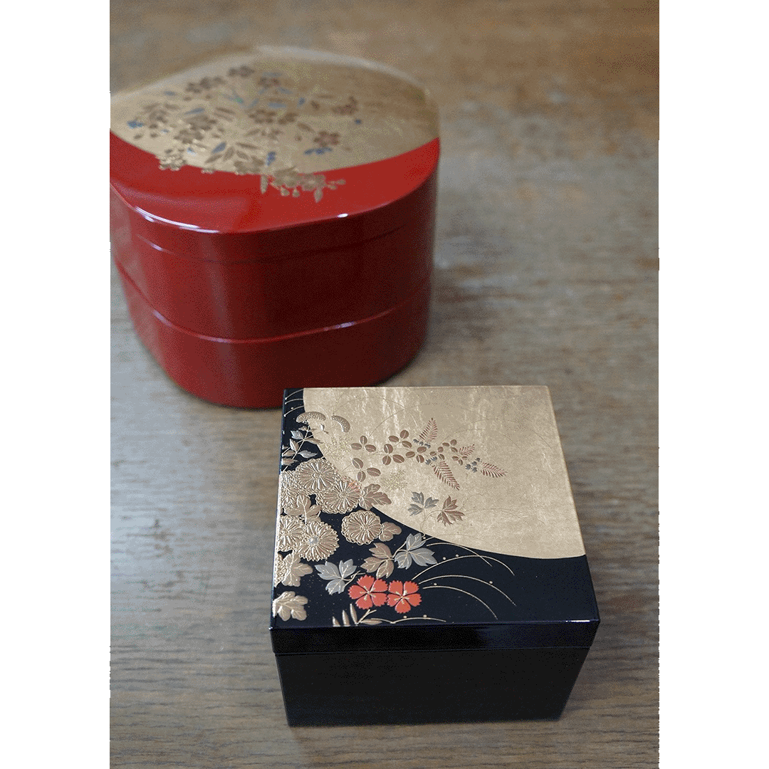 Find lacquerware indispensable to Japanese cuisine Nishiyama Shikki