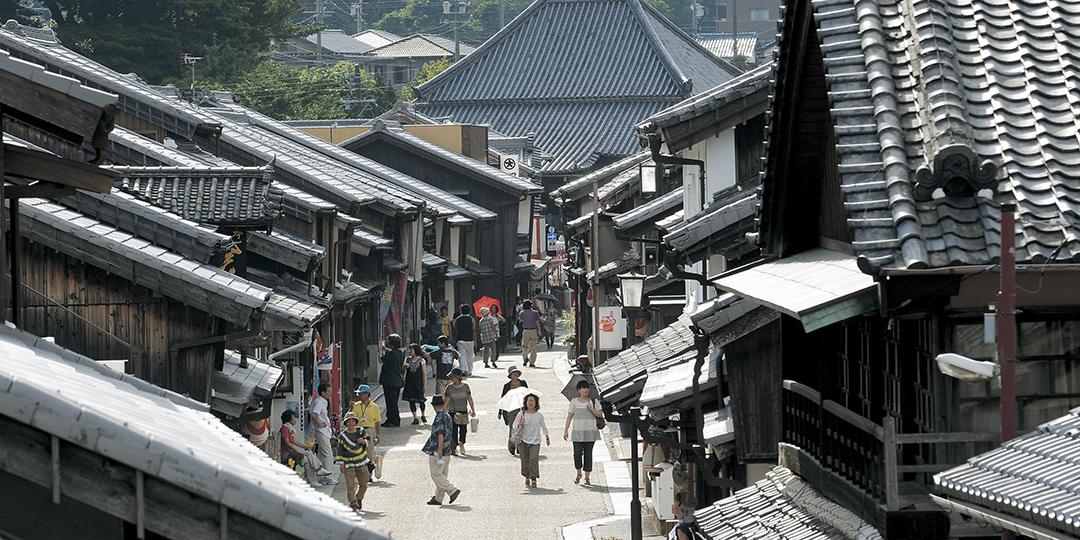 穿越回江户时代! 感受旅行者们聚集热闹的城市