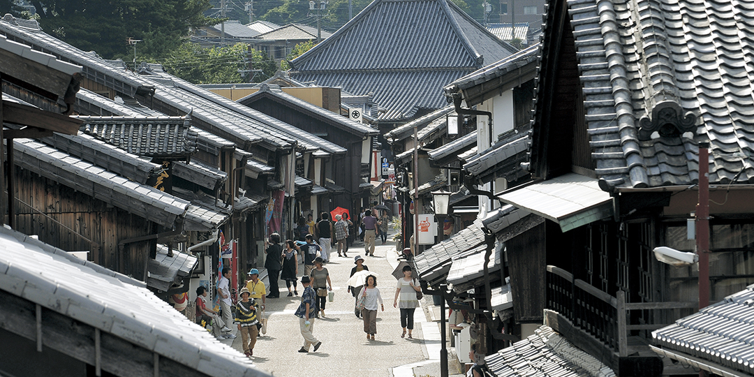에도시대로 시간여행! 여행자들로 붐비던 마을을 즐기자