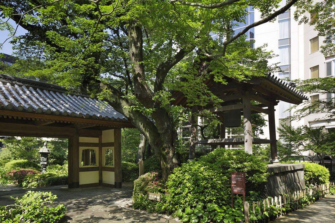 四季花木為庭院裡增添色彩 Grand Prince高輪酒店