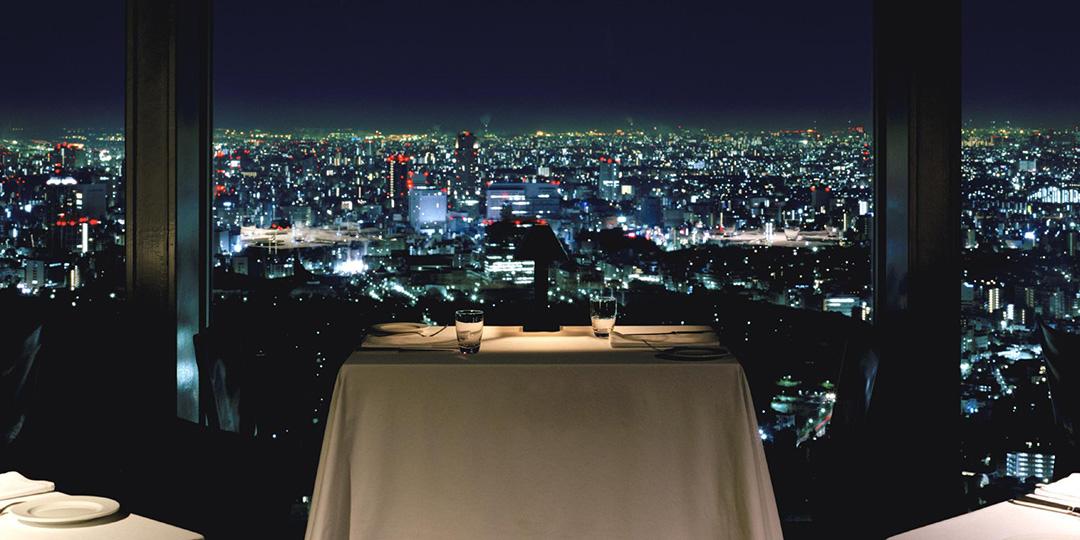 享受闪亮的夜景! 都市型高层酒店