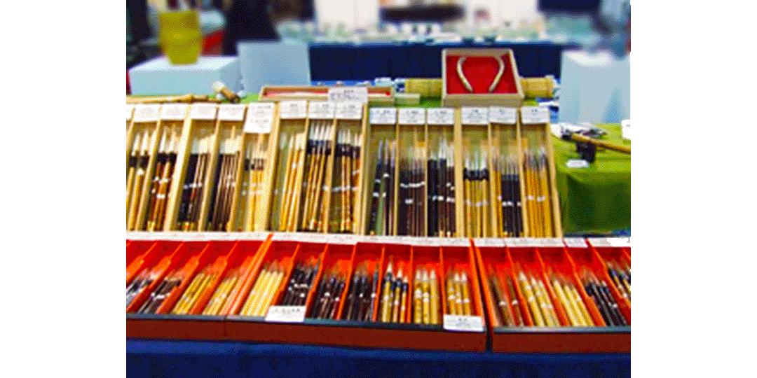【奈良笔 田中】手工制作独有的写作品味轻巧纯熟的笔