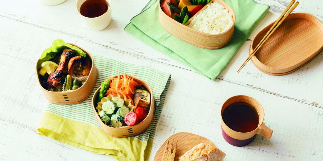 美麗具機能性的傳統器皿,大館曲木盒