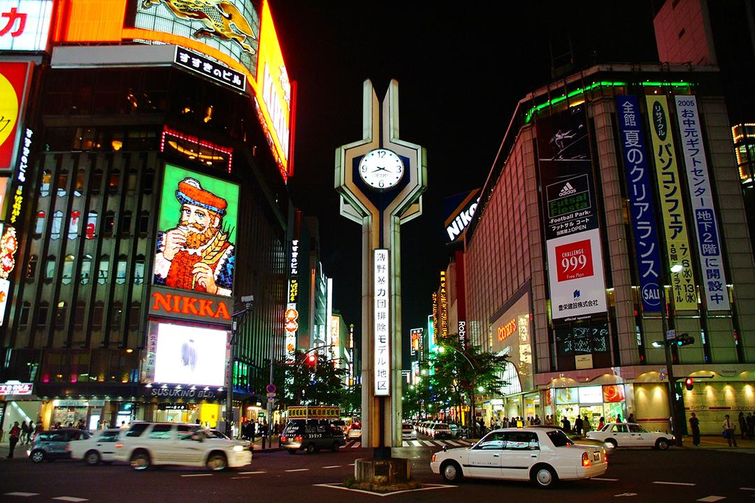 不限領域,讓人興奮的歡樂街 【薄野(Susukino)】
