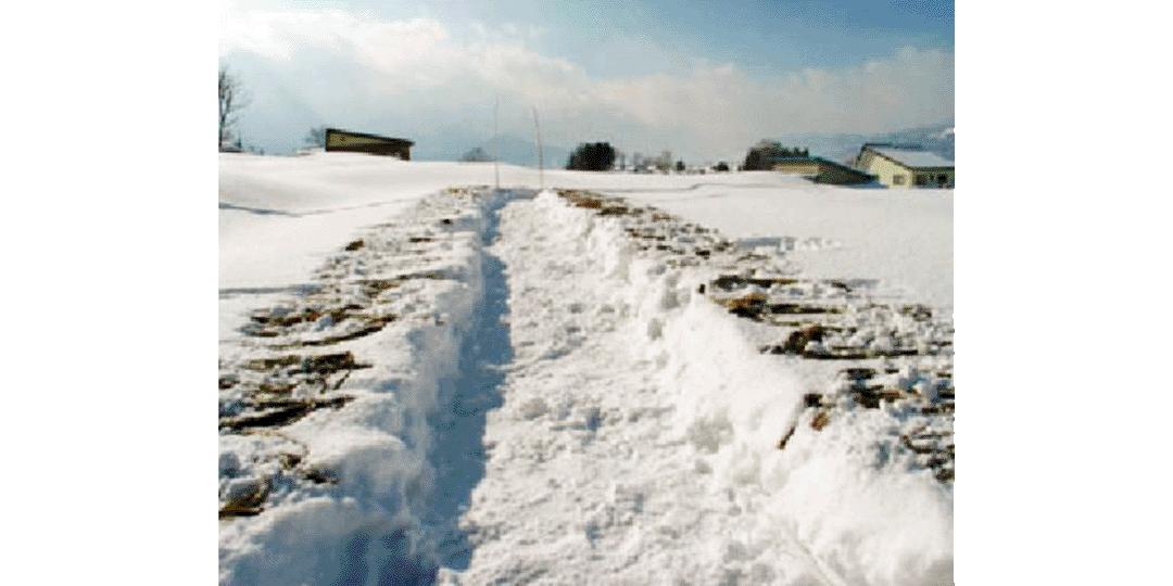 豪雪地帯の自然環境から生まれる和紙、内山紙