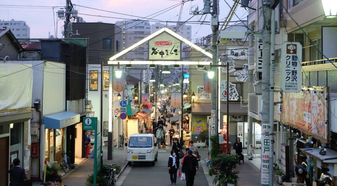 【谷中银座】在充满下町情调的商店街怀旧散步