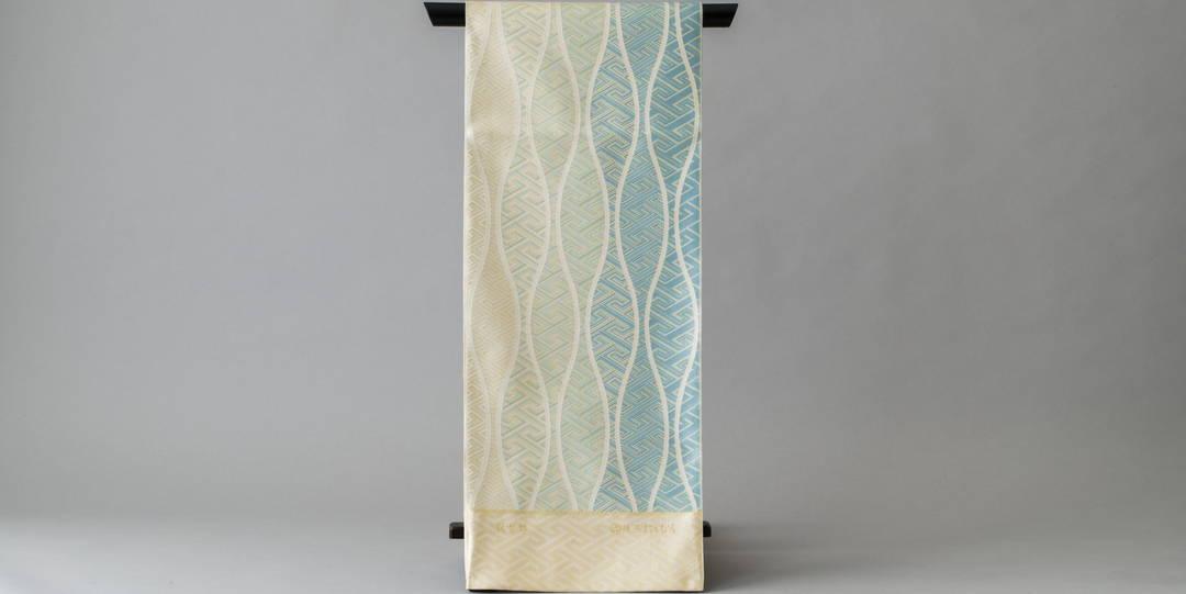 最古老的織物店繼承的牢靠而華麗的「博多織」