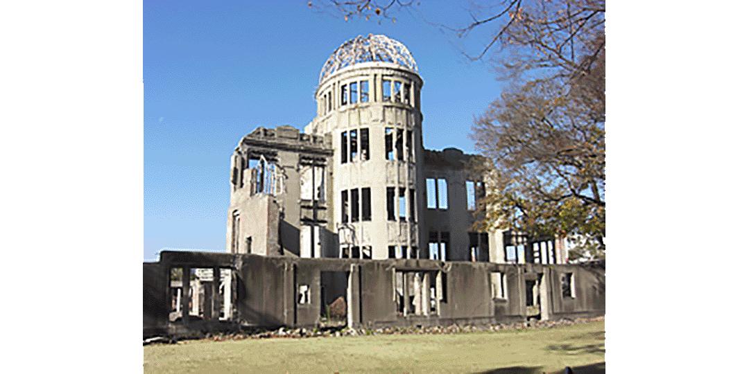 参观世界遗产---广岛原爆圆顶馆和严岛神社