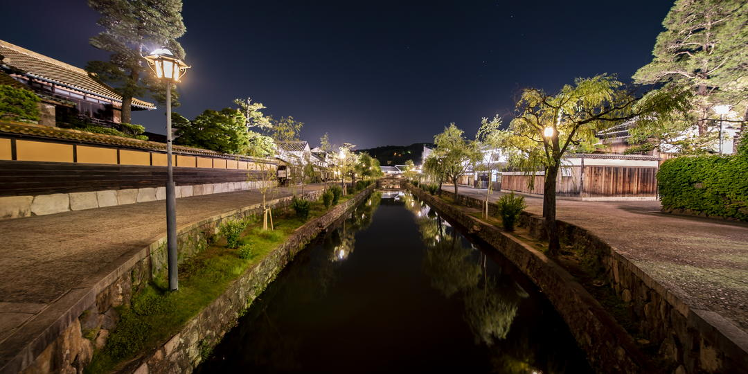 (VR Image) Transporting you back in time to the old romantic town with rich history – Kurashiki Bikan Historical Area -