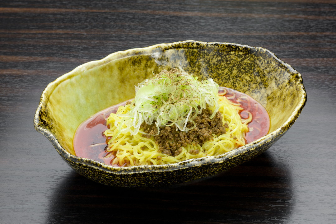 Hiroshima-style Dandan Noodles without Soup