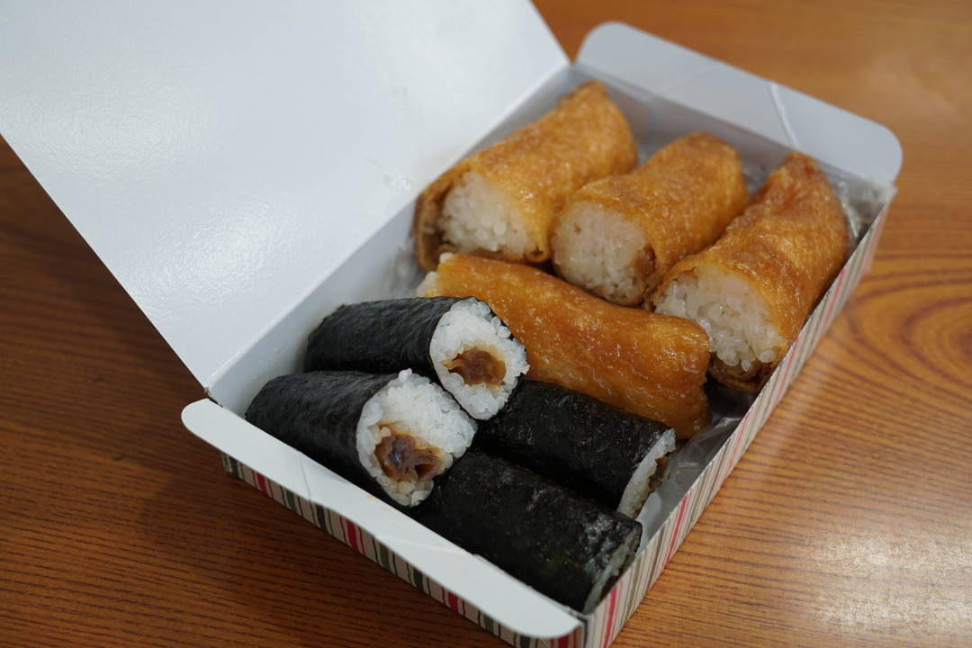 """Izuhei's inari-zushi,"" which satisfied the longshoremen"