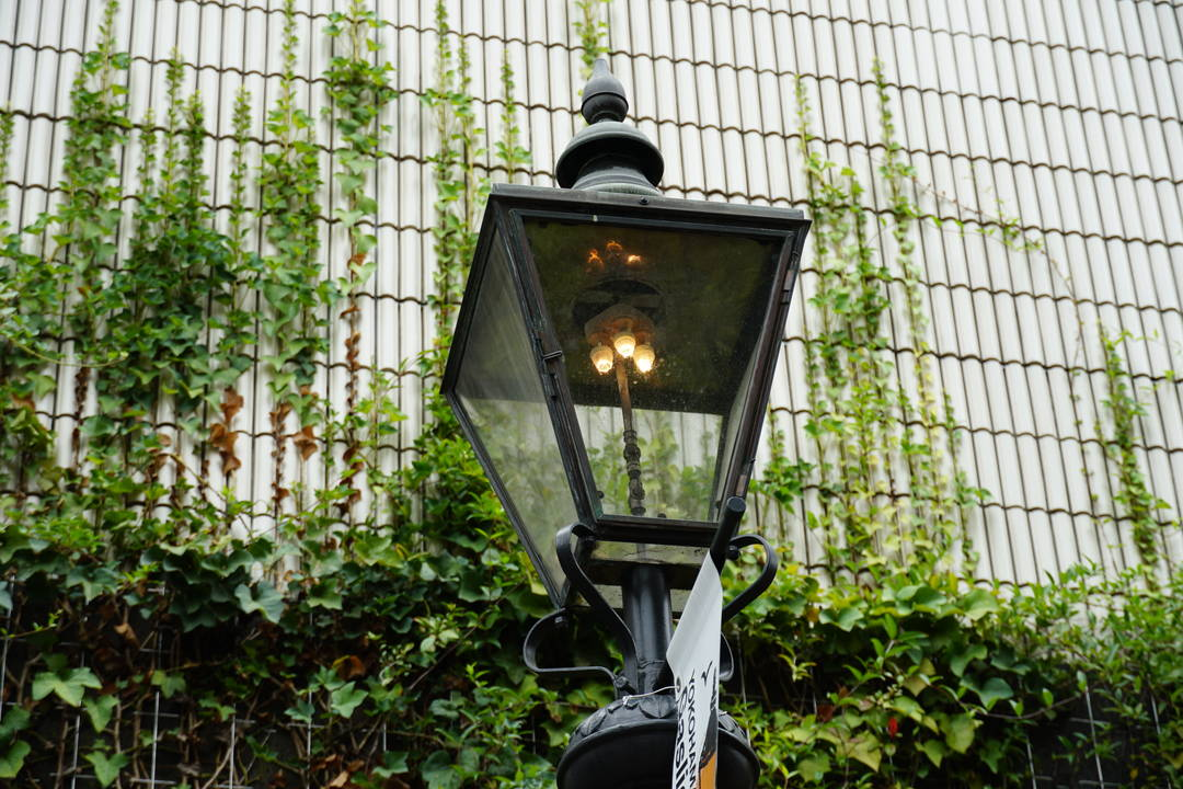 The first gas light in Japan also lit up in Bashamichi