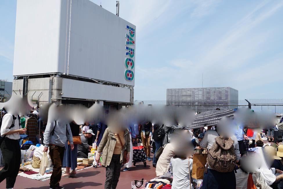 A flea market rooted firmly in the local region makes way for surprising discoveries [Kichijoji PARCO Rooftop Flea Market]