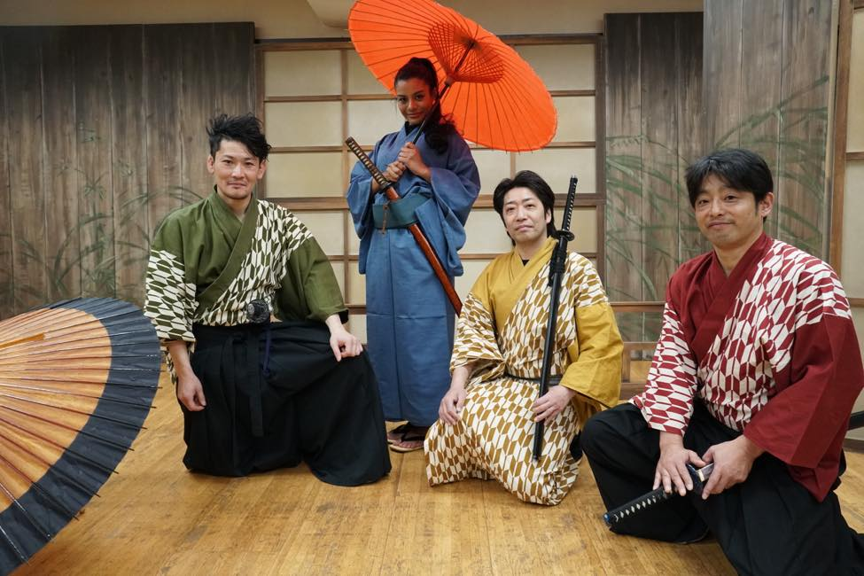 Experience a Sword Fight That Lets You Feel Like a Samurai  (Megumi Theater Company's SAMURAI FIGHT)