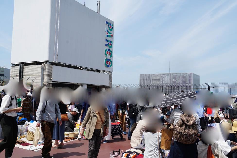 在扎根于地域的跳蚤市场会有意想不到的邂逅。【吉祥寺PARCO屋顶跳蚤市场】