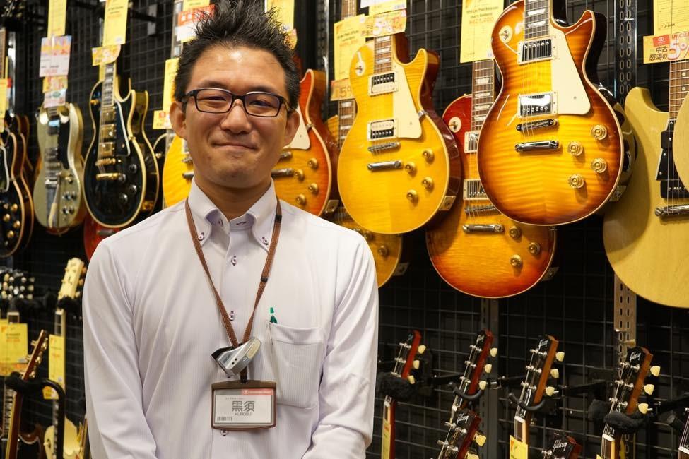 吉他自不用说,还有专卖贝斯和鼓的楼层迎接你的到来!