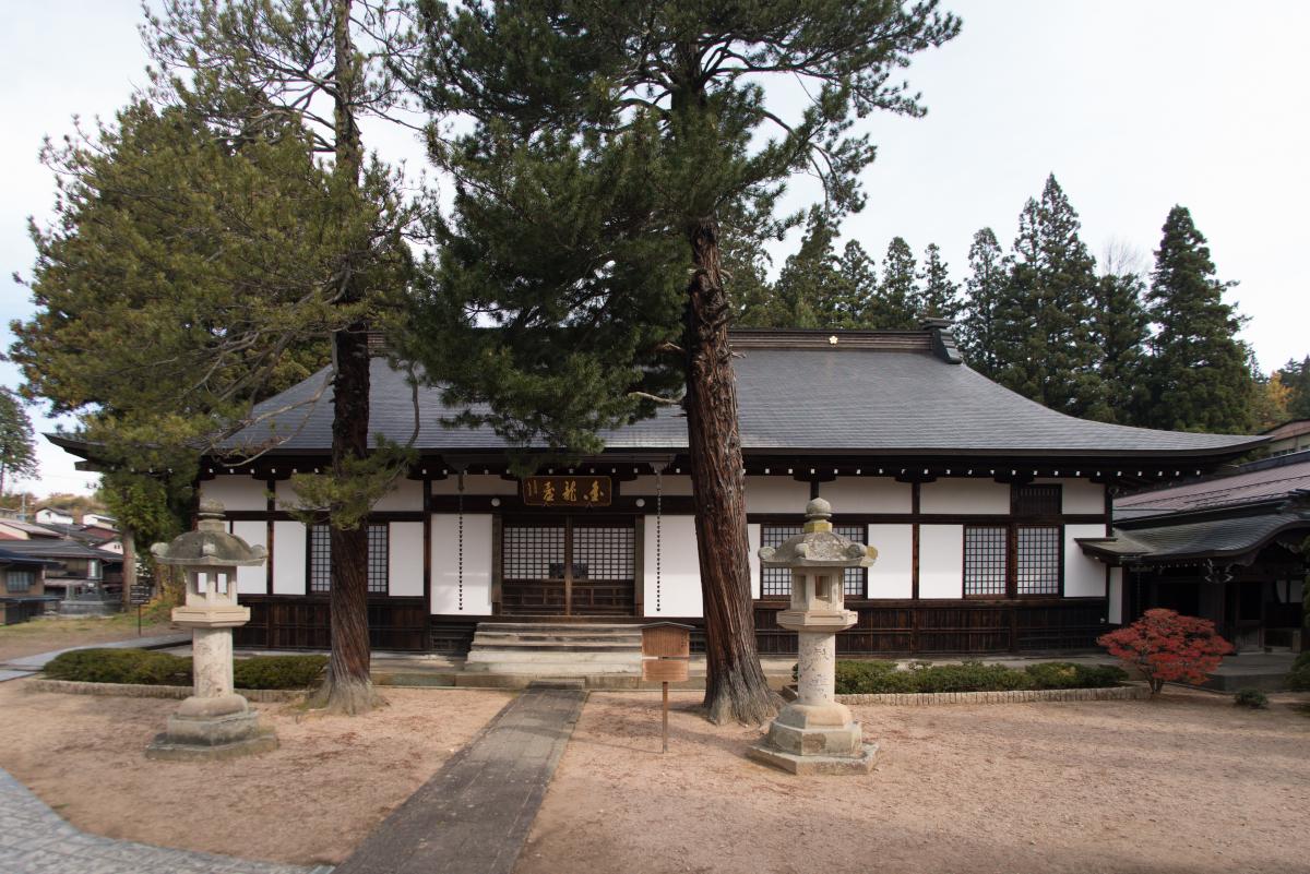 가나모리 나가치카와 인연이 깊은 서원 건축