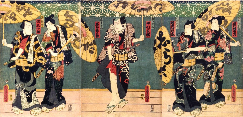 馬籠座歌舞伎を観る前に〜【白浪五人男・稲瀬川勢揃いの場】より〜