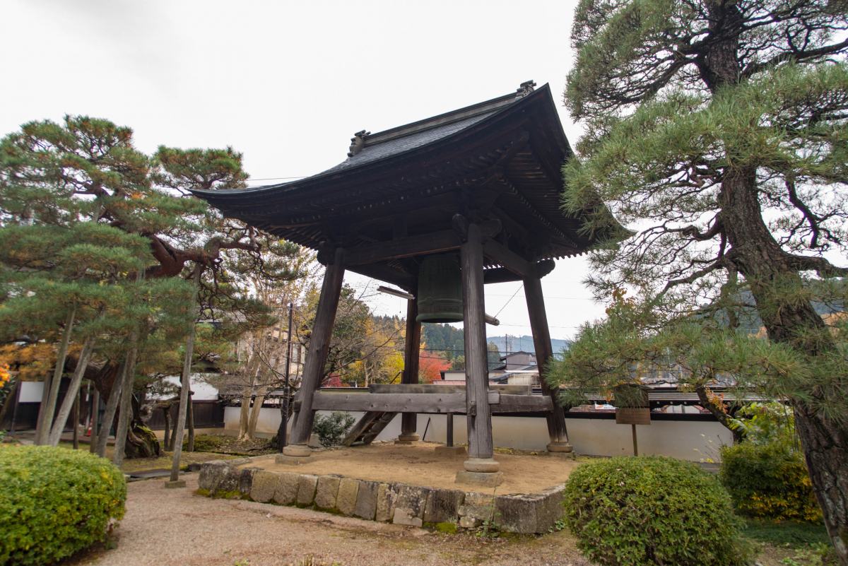 Shoro (bell tower) of Daio-ji Temple