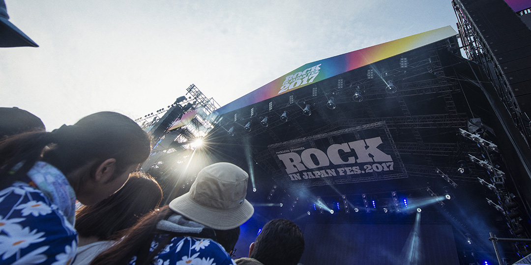 ROCK IN JAPAN FESTIVAL(Venue: Hitachi Seaside Park)