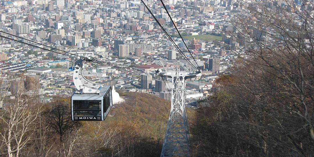 Sapporo Mount Moiwa Ropeway