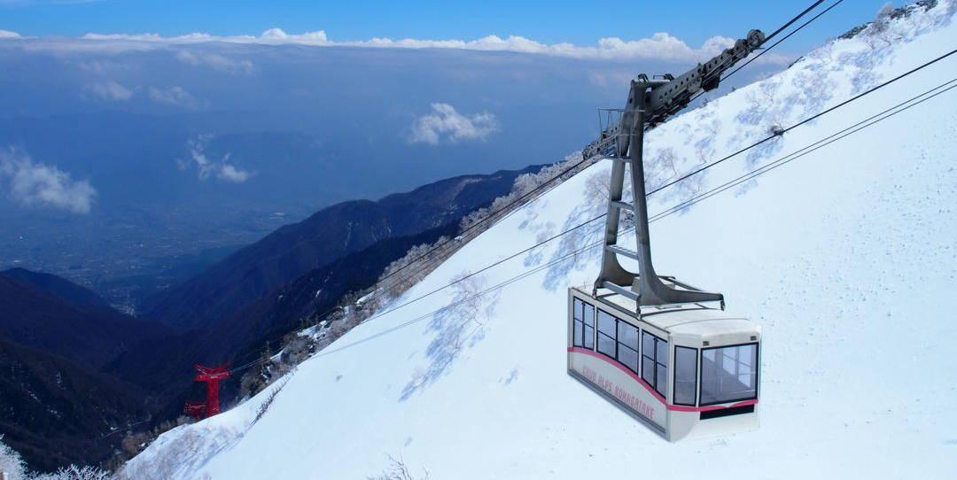 Central Alps Komagatake Ropeway
