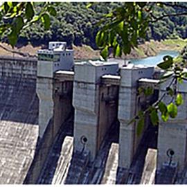 히요시 댐 히요시 댐 관리소