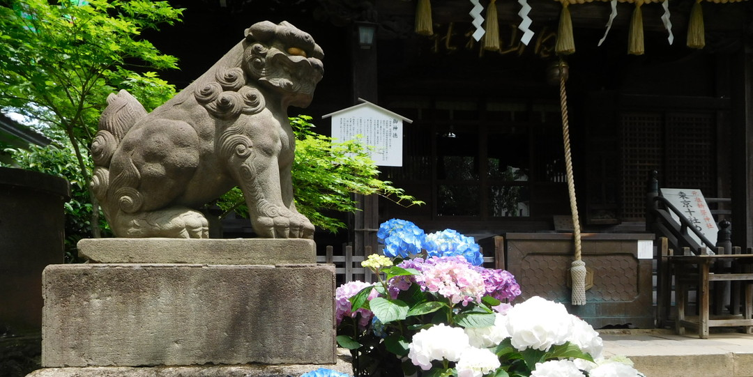Hakusan Jinja Shrine