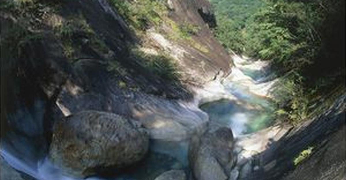 藤河内溪谷