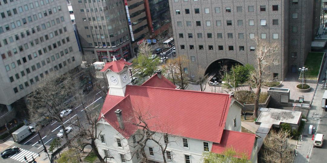 時計台(旧札幌農学校演舞場)
