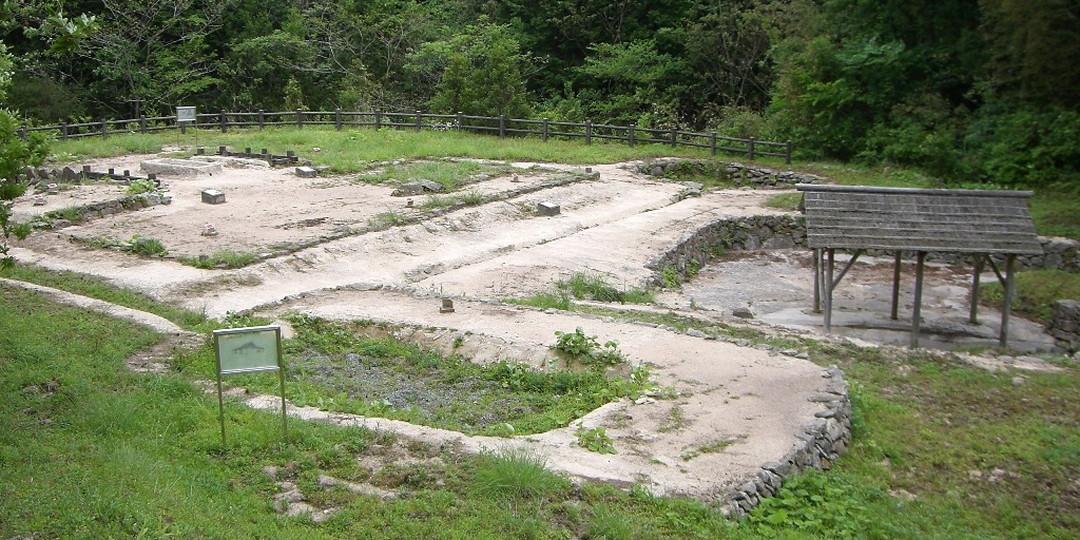Remains of Ohitayama Tatara Iron Works