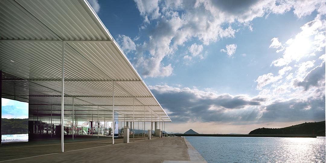 나오시마초 관광협회('바다 역 나오시마' 내)
