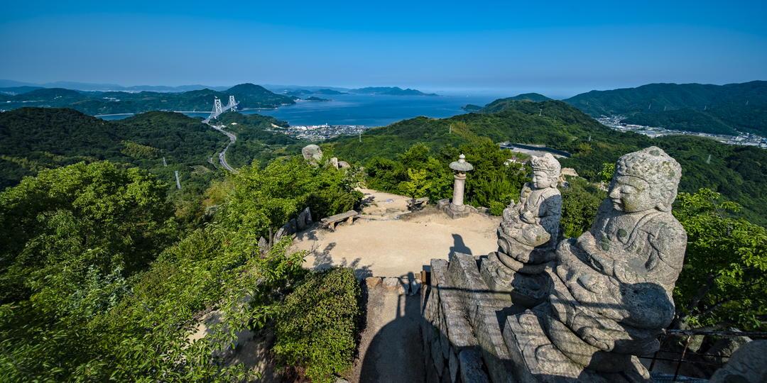 Mt. Shiratakisan's observation deck
