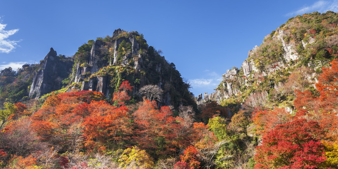 Shin-yabakei Valley