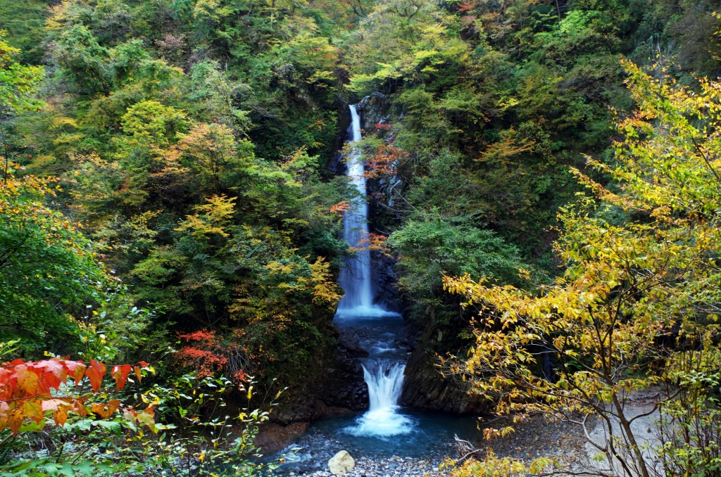大山滝(大山隠岐国立公園)・一向平キャンプ場