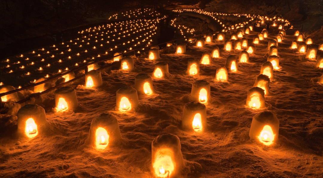 湯西川溫泉雪屋祭