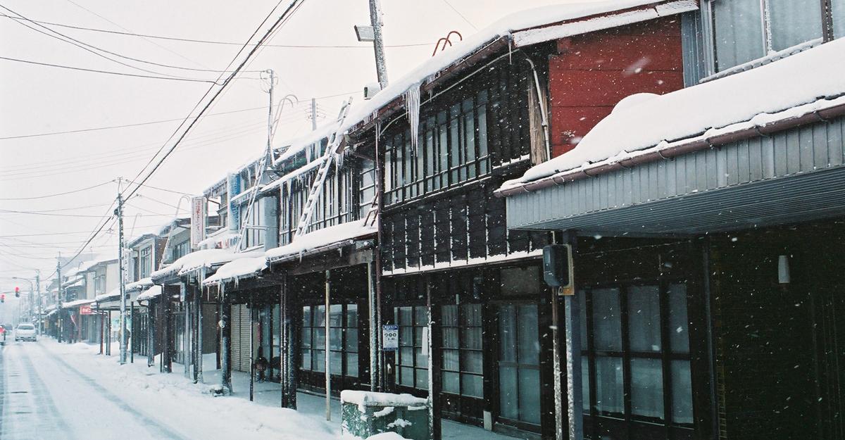 Gangi Dori (covered walkways)