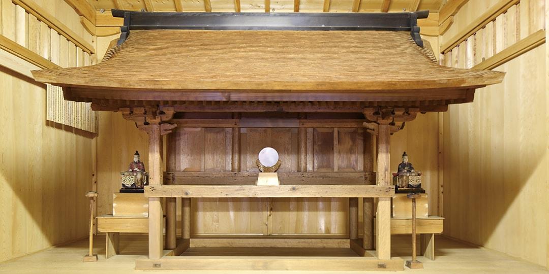Honden (main building) of Kumano Shrine