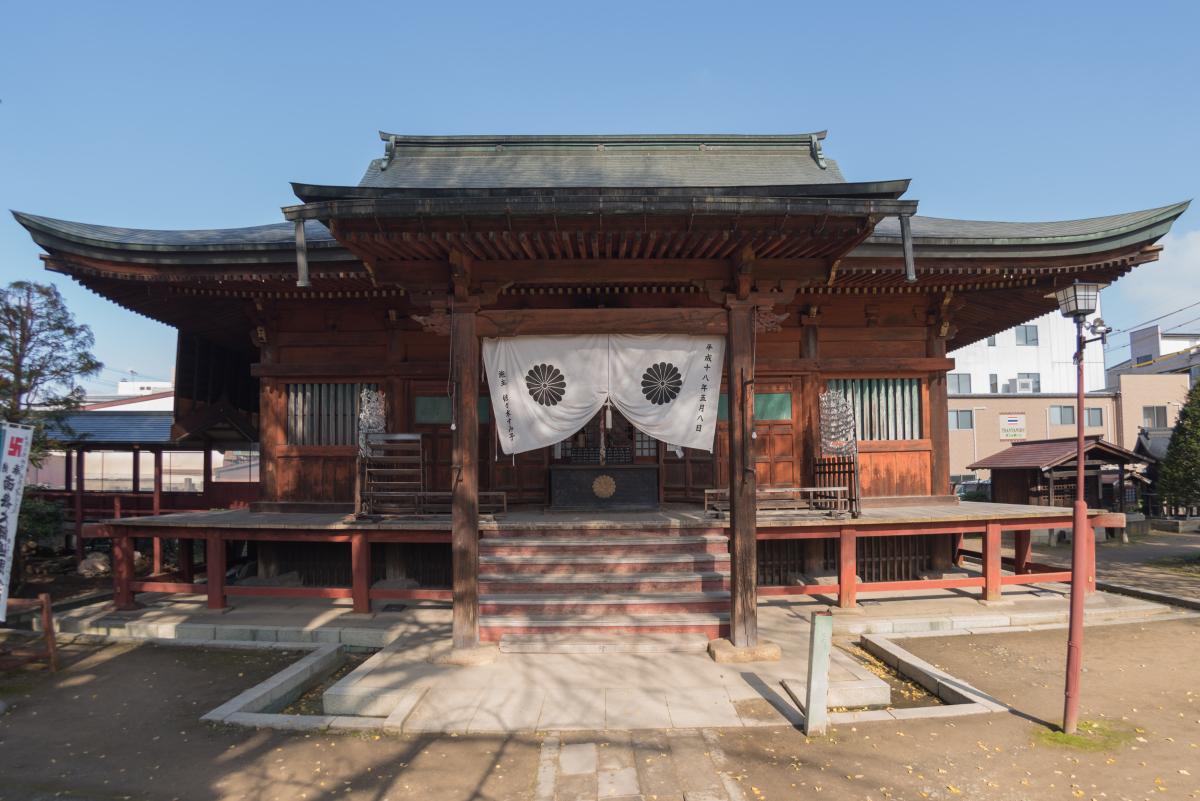 Hondo (main hall) of Kokubun-ji Temple